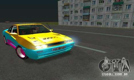 Opel Manta Mattig Extreme para GTA San Andreas vista traseira