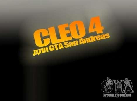 CLEO 4.3.10 para GTA San Andreas