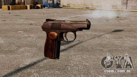 Pistola autocarregável Makarova para GTA 4