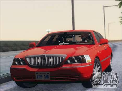 Lincoln Town Car 2010 para GTA San Andreas esquerda vista