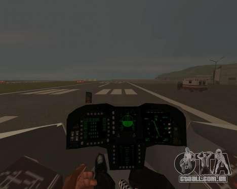 FA-37 Talon para vista lateral GTA San Andreas