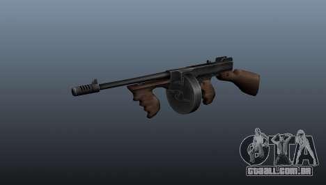 Pistola-metralhadora Thompson M1928 para GTA 4