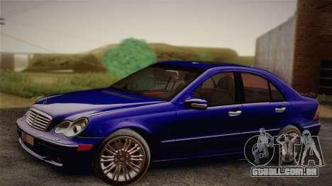 Mercedes-Benz C320 Elegance 2004 para GTA San Andreas vista direita