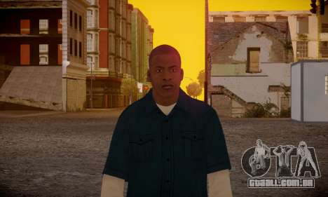 Franklin para GTA San Andreas sexta tela