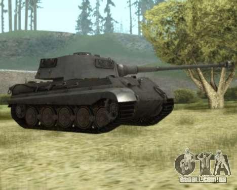 PzKpfw VIB Tiger II para GTA San Andreas esquerda vista