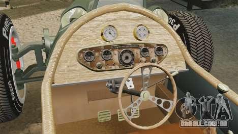 Auto Union Type C 1936 para GTA 4 vista lateral