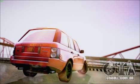Reflective ENBSeries v1.0 para GTA San Andreas por diante tela
