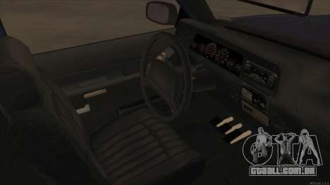 Bobcat HD from GTA 3 para GTA San Andreas vista interior