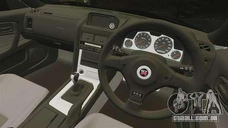 Nissan Skyline GT-R V-Spec II Mk.X [R34] para GTA 4 vista interior