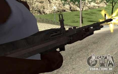 M60E4 para GTA San Andreas terceira tela