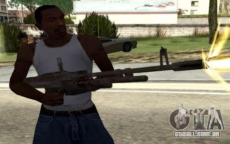 M60E4 para GTA San Andreas segunda tela