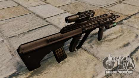 Rifle Steyr AUG A3 para GTA 4 segundo screenshot