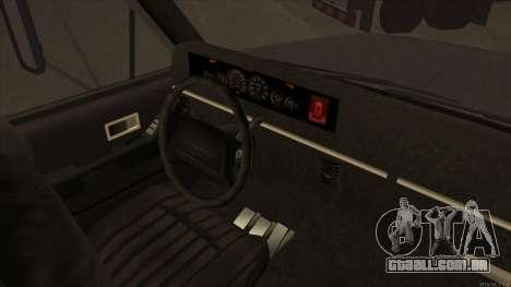 Yankee HD from GTA 3 para GTA San Andreas vista traseira