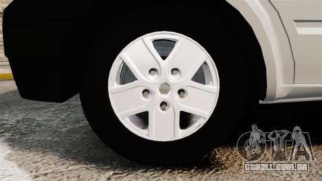 Ford Transit 2013 para GTA 4 vista de volta
