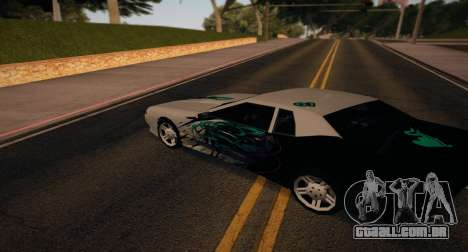 Vinyl for Elegy para GTA San Andreas vista direita