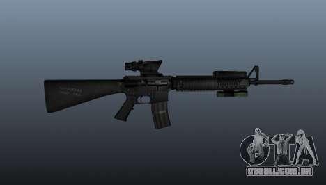 Fuzil M16A4 AEG para GTA 4 terceira tela