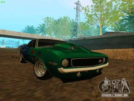 Chevrolet Camaro z28 Falken edition para GTA San Andreas