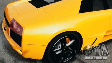 Lamborghini Murcielago LP640 2007 [EPM] para GTA 4 vista de volta