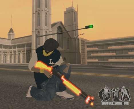Vagos Gun Pack para GTA San Andreas terceira tela