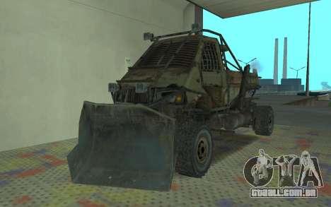 Gazela o Metro 2033 para GTA San Andreas