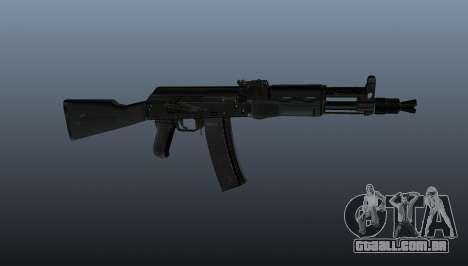 AK-102 para GTA 4 terceira tela