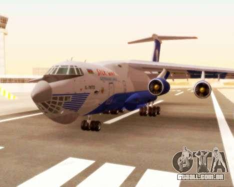 Il-76td forma de seda para GTA San Andreas