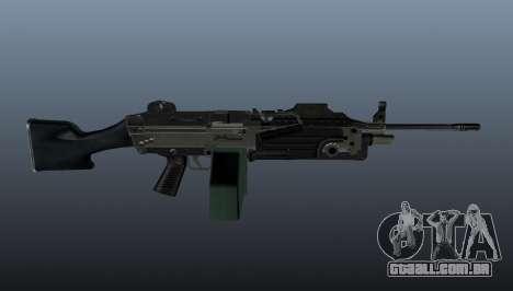 Atualizado M249 metralhadora leve para GTA 4 terceira tela