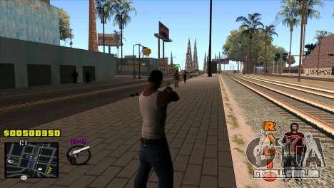 C-HUD Radio para GTA San Andreas segunda tela
