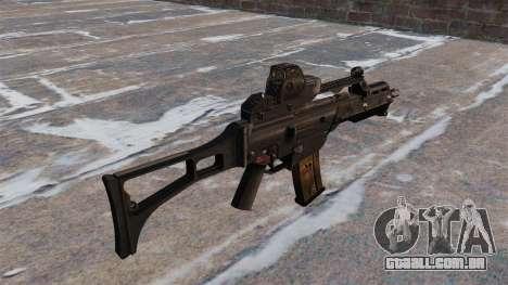 Fuzil de assalto HK G36C para GTA 4 segundo screenshot