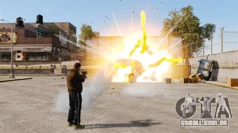 Foguetes de tiros para GTA 4 sexto tela