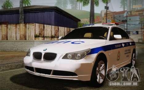 BMW 530xd DPS para GTA San Andreas