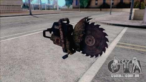 Motosserra de Silent Hill Home vinda para GTA San Andreas