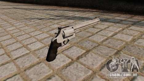 500 S & W Magnum revolver. para GTA 4 segundo screenshot