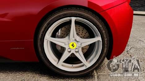 Ferrari 458 Italia 2010 Novitec para GTA 4 vista direita