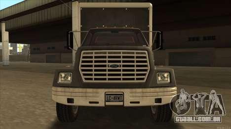 Yankee HD from GTA 3 para GTA San Andreas esquerda vista