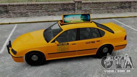 Real publicidade em táxis e autocarros para GTA 4 quinto tela