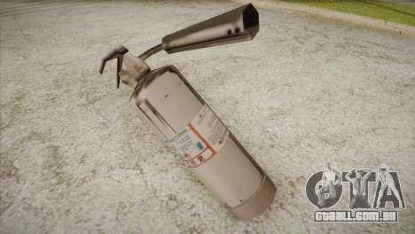 Novo extintor de incêndio para GTA San Andreas