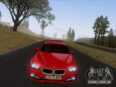 BMW 3 Touring F31 2013 para GTA San Andreas vista direita