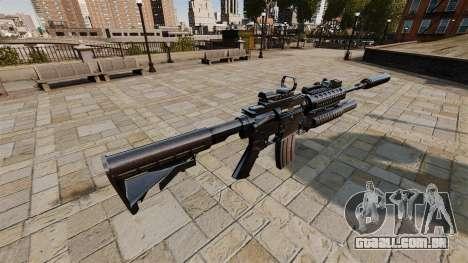Carabina automática M4A1 SOPMOD para GTA 4 segundo screenshot