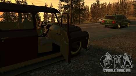 GAZ 53 para GTA 4 vista lateral