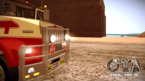 Kenworth RoadTrain T800 para GTA San Andreas vista superior