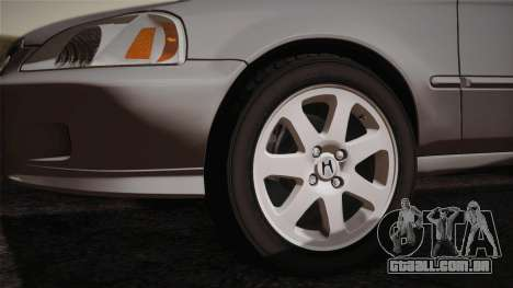 Honda Civic Si 1999 Coupe para GTA San Andreas vista direita