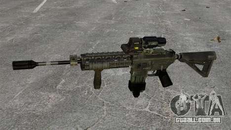 M4 Escopo de híbrido de carabina para GTA 4 terceira tela
