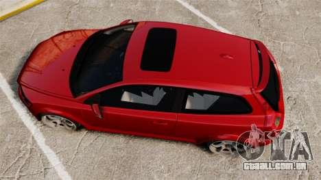 Volvo C30 T5 2009 para GTA 4 vista direita