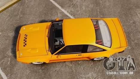 Opel Manta para GTA 4 vista direita