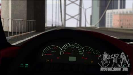 Esportes VAZ-2112 para GTA San Andreas vista traseira