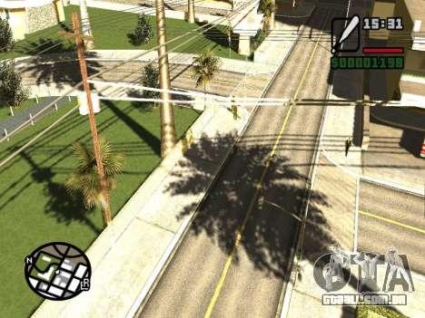 SA Render Public-Beta v0.1 para GTA San Andreas segunda tela