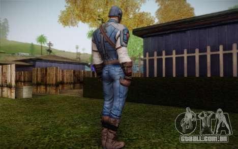 Captain America: First Avenger para GTA San Andreas segunda tela