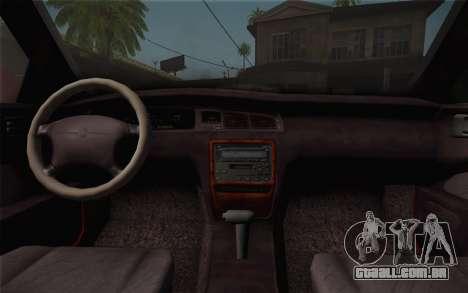 Toyota Crown Royal saloon g 3.0 para GTA San Andreas vista direita