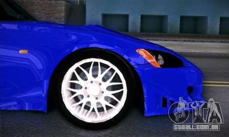 Honda S2000 para GTA San Andreas vista superior